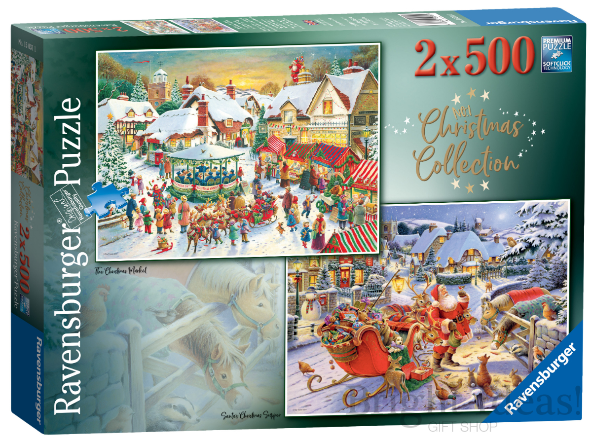 Christmas Collection No 1 - 2 x 500 Piece Jigsaw Puzzles