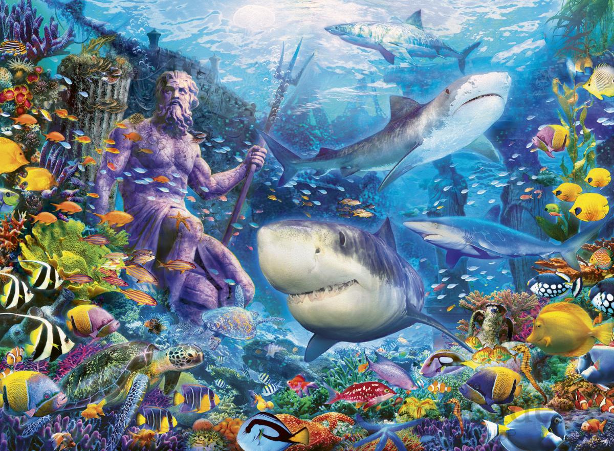 Sea 500 Piece Jigsaw Puzzle