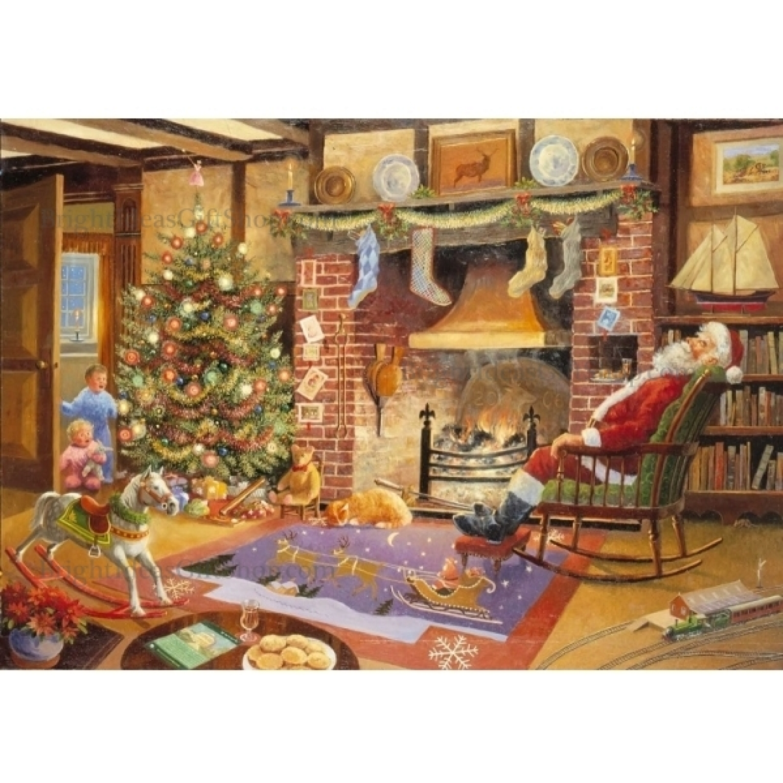 House Of Puzzles 1000 PIECE JIGSAW PUZZLE Christmas Eve Collectors No 13