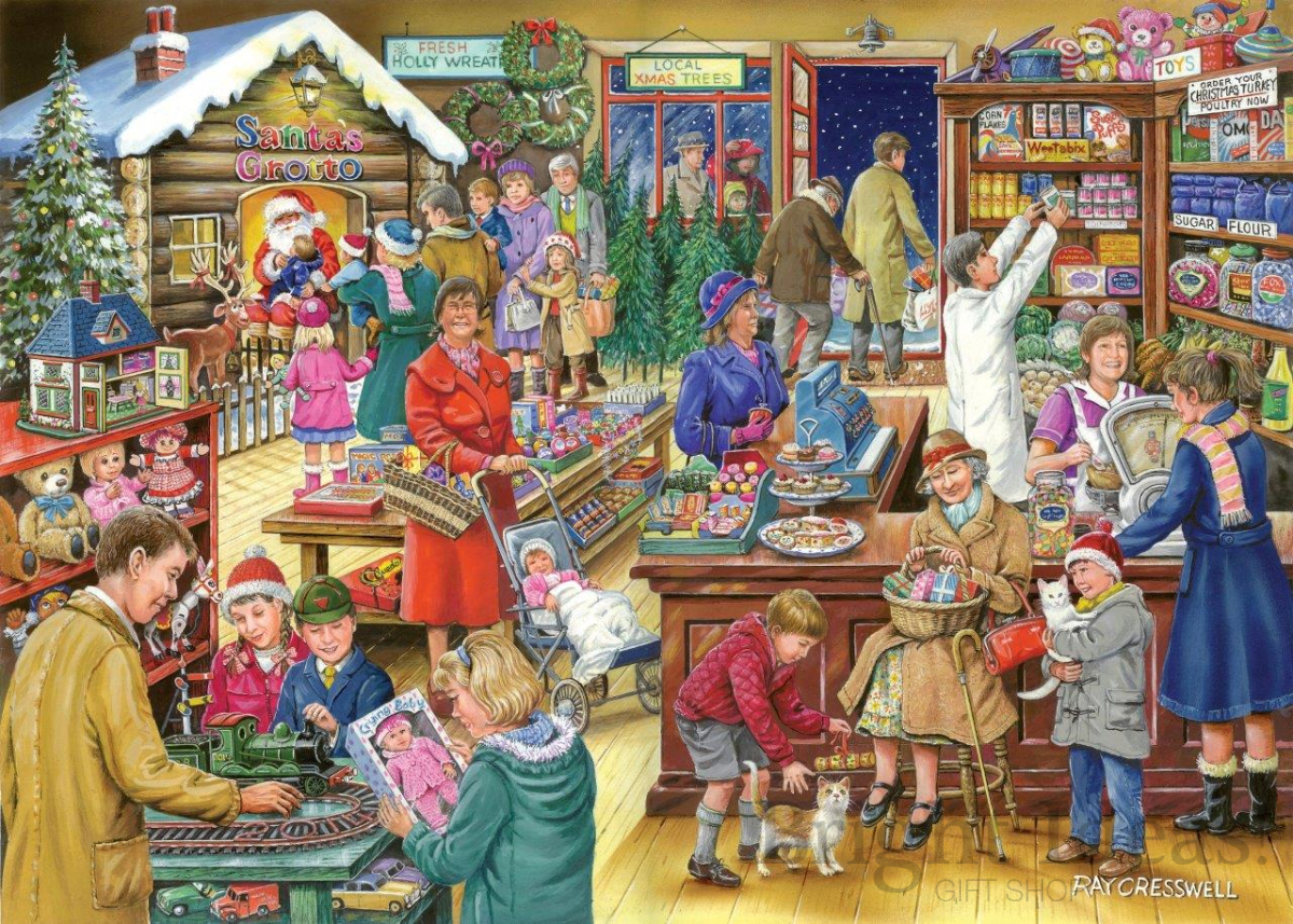 Christmas Jigsaw Puzzles.Christmas Treats Christmas Collectors Edition No 9 500 Piece Puzzle