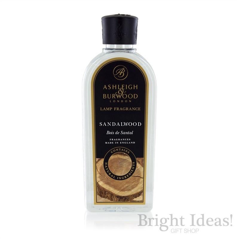 Sandalwood Fragrance Lamp Oil 500ml By Ashleigh Amp Burwood