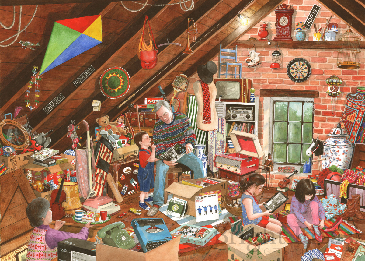 Dawn Chorus House of Puzzles 1000 Piece