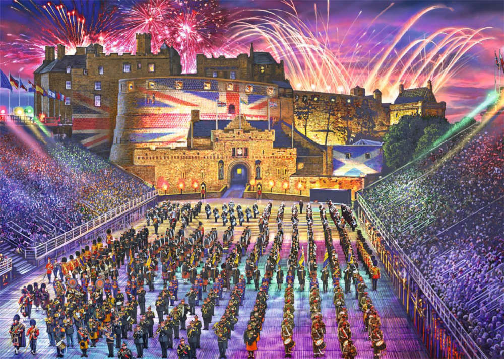 The Royal Edinburgh Military Tattoo 1000 Piece Jigsaw