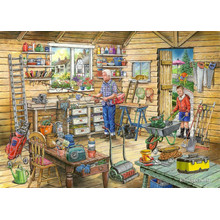 Freds shed no14 find the differences 1000 piece puzzle by house find the difference house puzzles jigsaw freds she thecheapjerseys Images