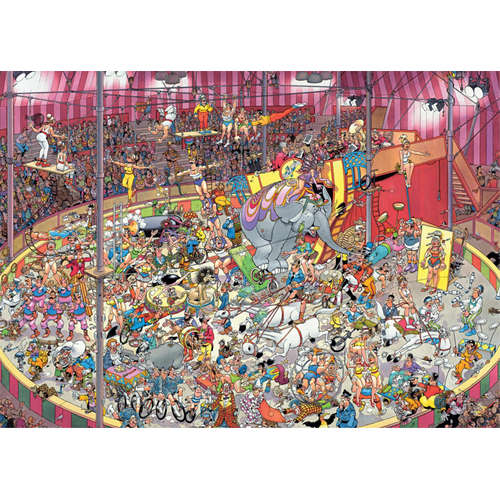 01470 The Circus jan van haasteren jigsaw puzzle j