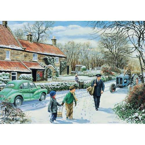11100 winter round snow morris minor tractor jumbo