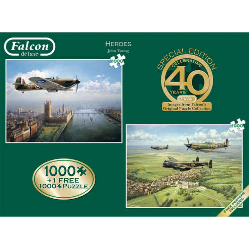 11135 heroes jigsaw puzzle hurricane spitfire falc
