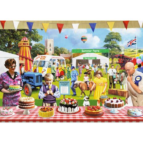 11160 the baking fair falcon jigsaw puzzle food dr