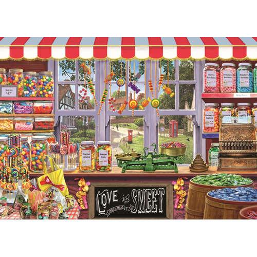 11180 Sidneys sweet shoppe shop jigsaw puzzle falc