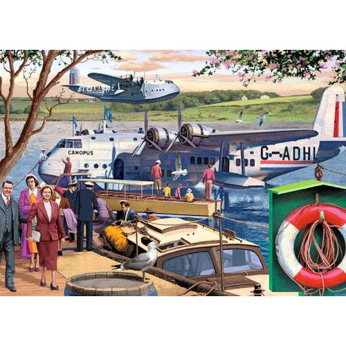 11194 empire flying boats jigsaw puzzle falcon tra