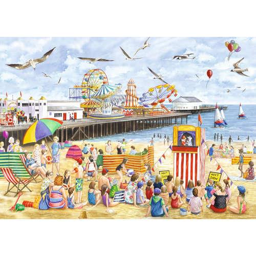 11204 clacton on sea jigsaw puzzle seaside beach