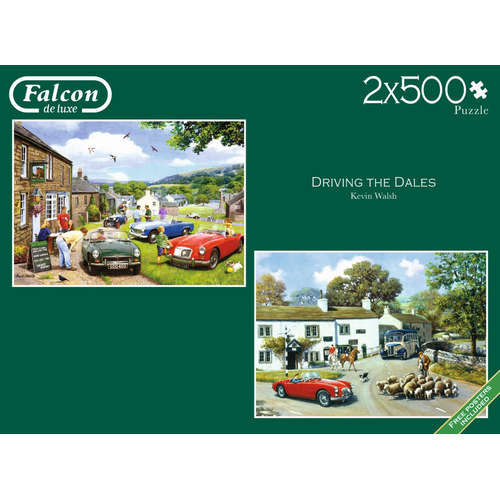 11215 driving the dales falcon jigsaw puzzle