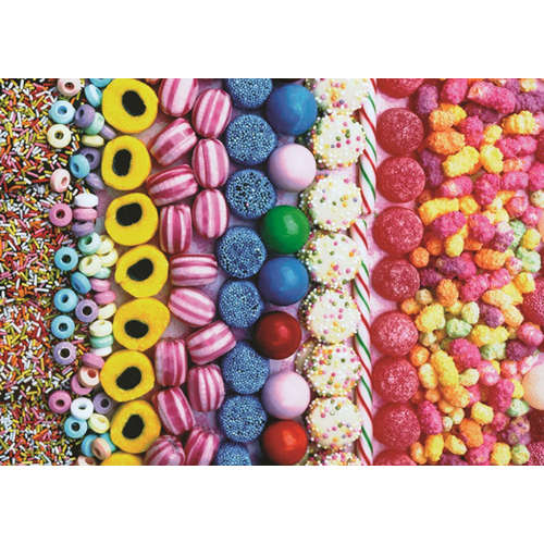 18536  sweets jigsaw puzzle jumbo liquorice snowdr