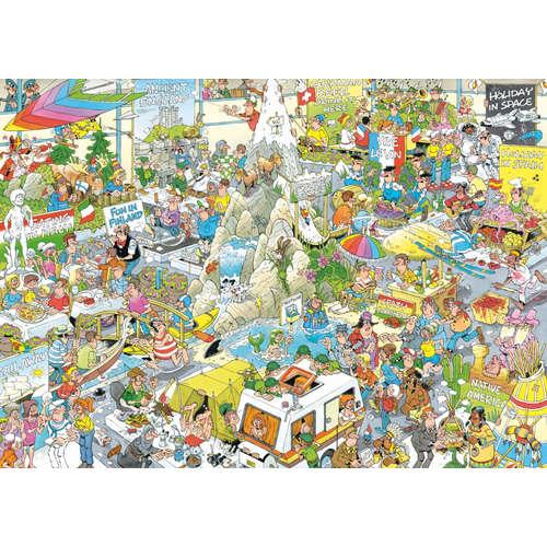 19051 holiday fair jan van haasteren jigsaw puzzle