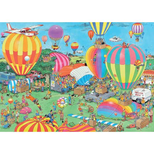 19052 balloon festival hot air jan van haasteren j