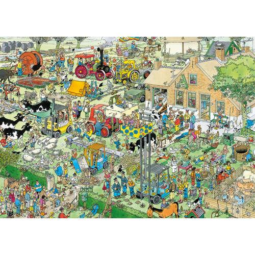 19063 farm fun jan van haasteren jigsaw puzzle jum