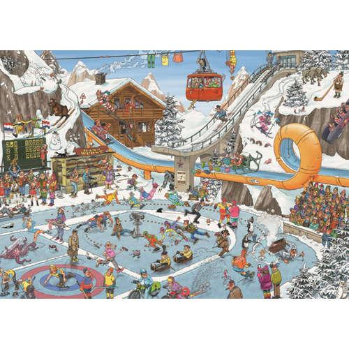 19065 winter games jan van haasteren jigsaw puzzle