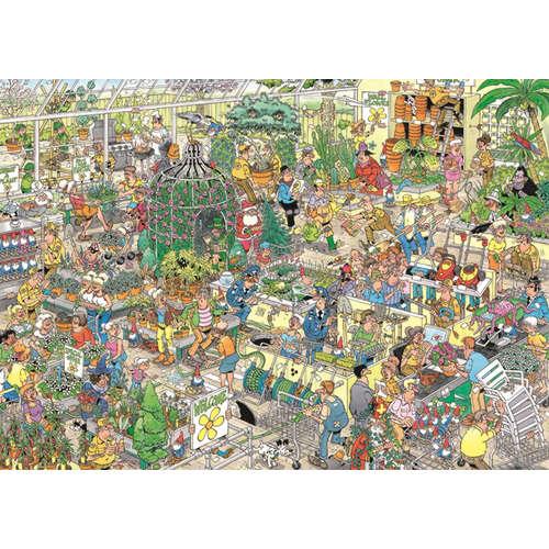 19066 garden centre jan van haasteren jigsaw puzzl