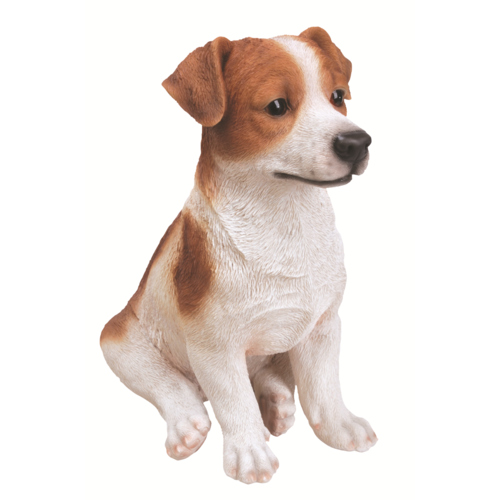 Jack Russell Terrier Standing Real Life Dogs by Vivid Arts