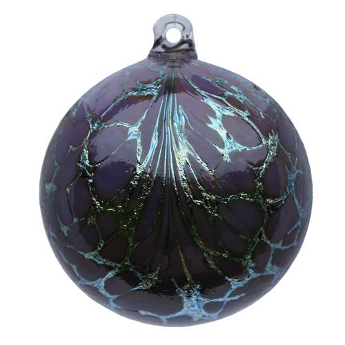 Amethyst Lilac Friendship Fantasy Silver Ball Glob