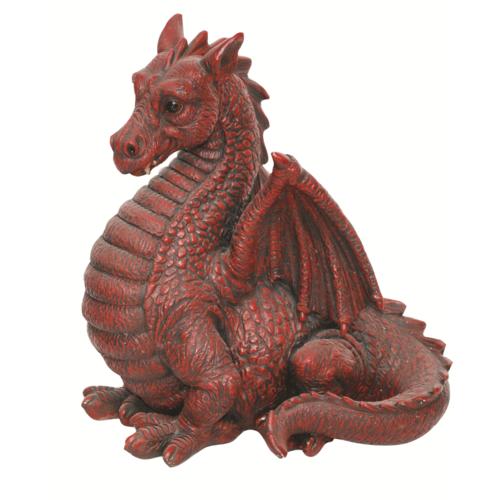 BG-DGRE-D Red Winged Dragon Vivid Arts Real Life D