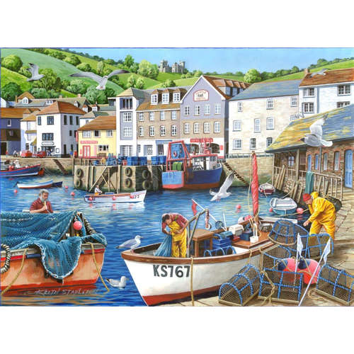 Busy Harbour Find The Difference House Of Puzzles