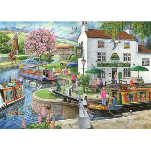 By The Canal House Of Puzzles Find Difference Jigs
