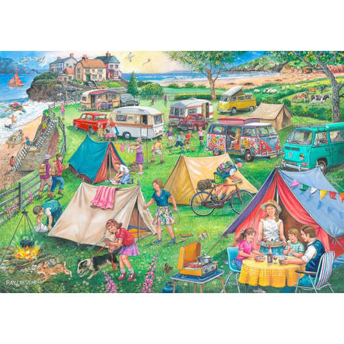 Camping No10 Jigsaw House of Puzzles Puzzle Find D