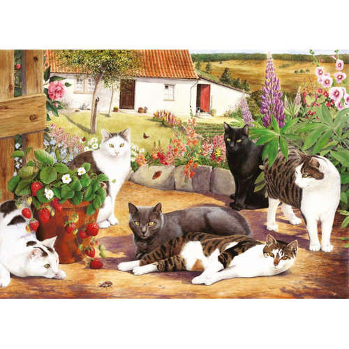 Cool Cats House Of Puzzles Jigsaw Puzzles BIG 500