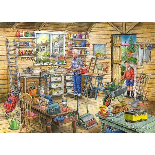 Find the Difference House Puzzles jigsaw Freds she