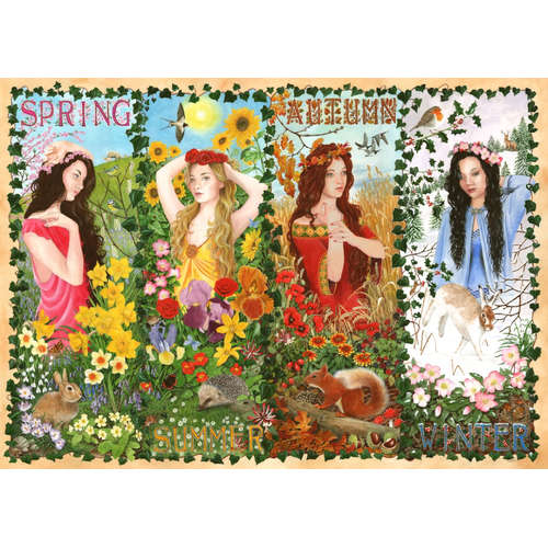 Four Seasons House of puzzles jigsaw puzzle 1000