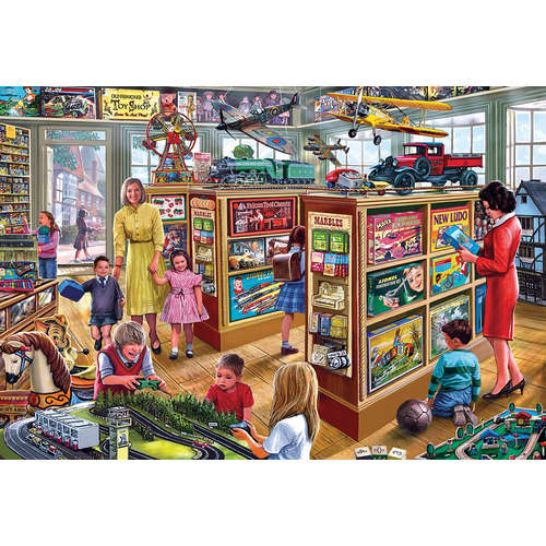 G2707 The Toy Shop Gibsons Jigsaw Puzzle Big Piece
