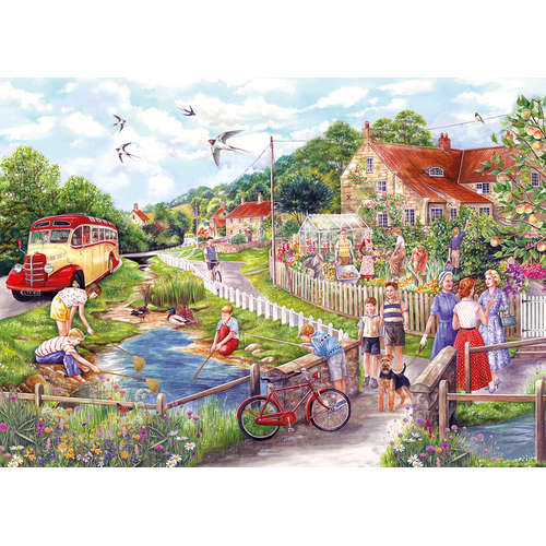 G2711 Summer by the stream gibsons jigsaw puzzle