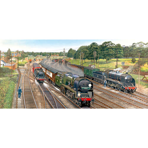 G4018 New Forest Junction Gibsons Panoramic Jigsaw