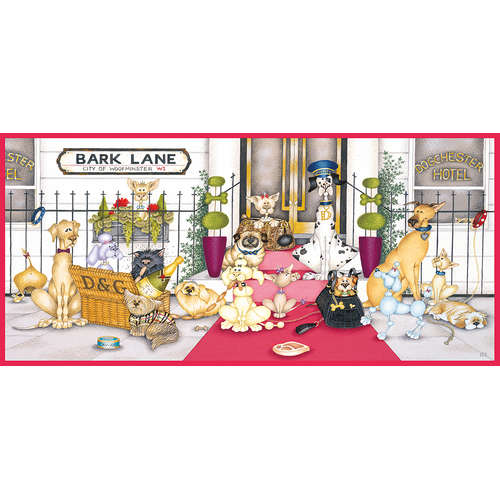 G4042 Bark Lane Dogs Gibsons Jigsaw Puzzle