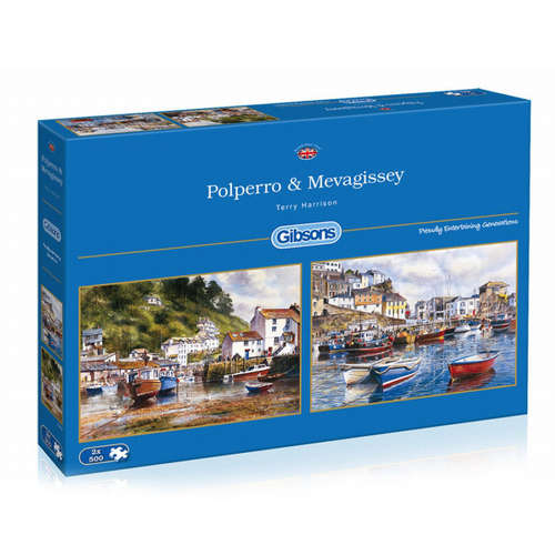 G5019 polperro mevagissey jigsaw puzzle gibsons