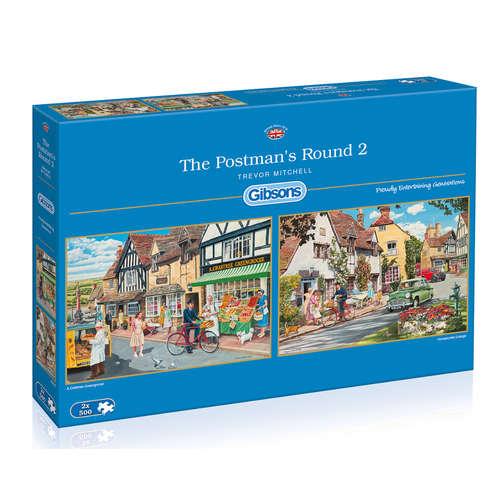 G5030 postmans round gibsons jigsaw puzzle 2 jigsa