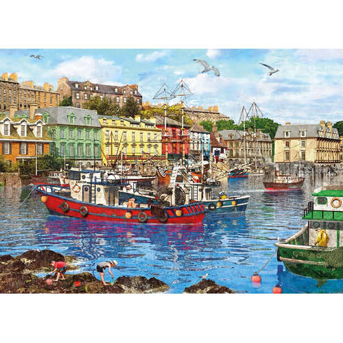 G6201 Cobh Harbour Queenstown Cork jigsaw puzzle g
