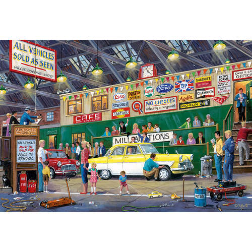 G6234 Going Once Twice Aution Gibsons Jigsaw Puzzl