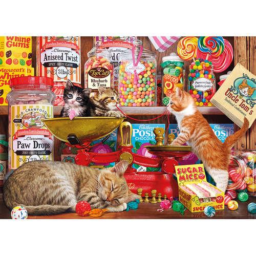 G6237 Paw Drops Sugar Mice Gibsons Jigsaw Cats