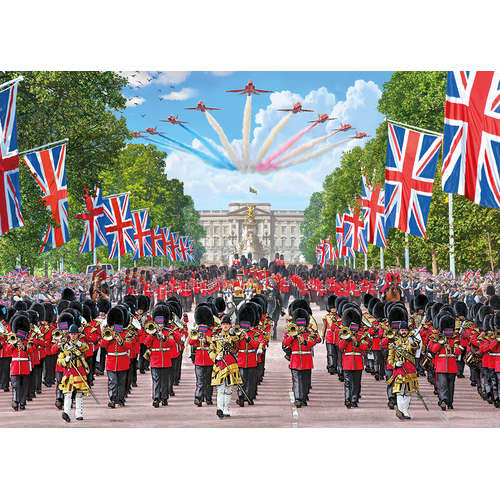 G6239 Trooping the Colour Jigsaw Gibsons London Ma