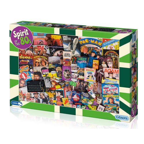 G7087 Spirit of the 80s Gibsons Jigsaw Puzzle