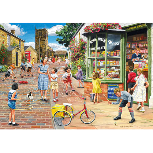 G8011 Hopscotch Hill gibsons jigsaw puzzle 2000