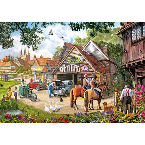 G8012 Afternoon Amble gibsons jigsaw puzzle 2000