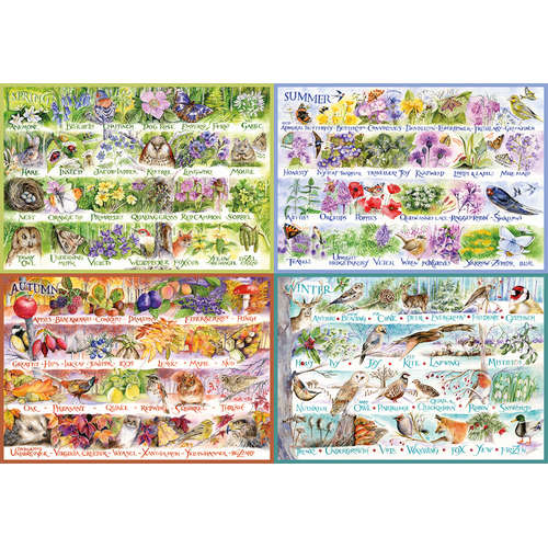 G8014 Woodland Seasons Gibsons Jigsaw puzzle