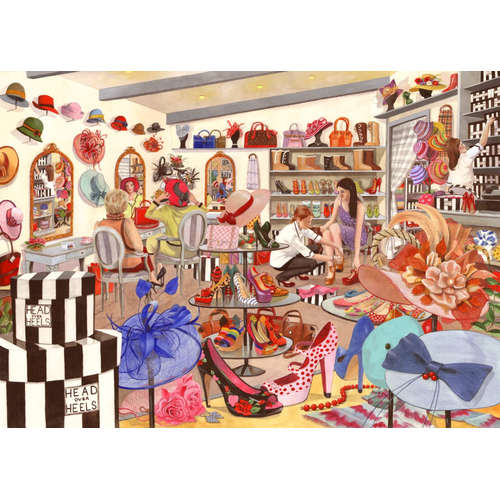 Head Over Heels House of Puzzles jigsaw  Tracy Hal