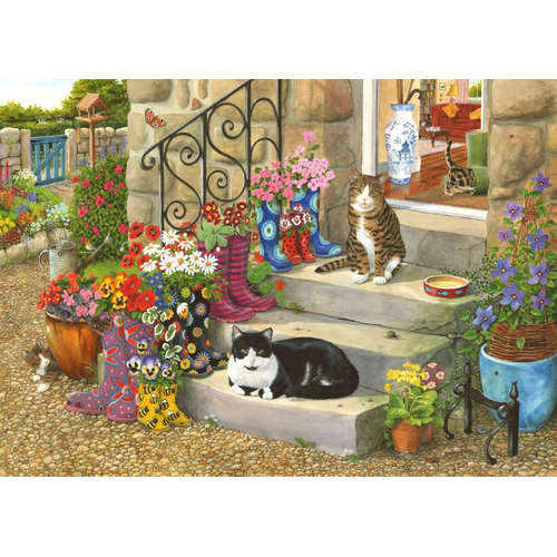 Puss n Boots House Of Puzzles Jigsaw BIG 500 Piece