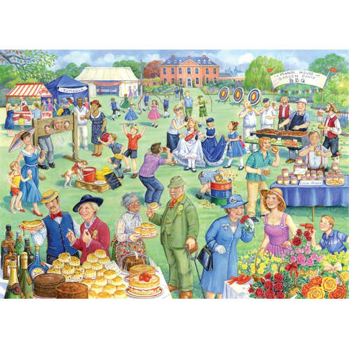 Summer Fete House of Puzzles Jigsaw Birkinshaw