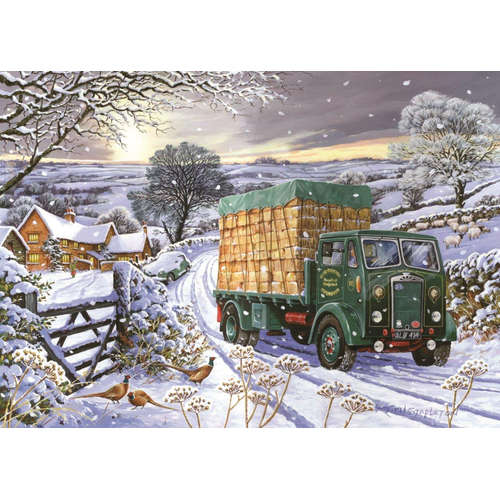 Sure As Sunrise House of Puzzles Jigsaw Puzzle