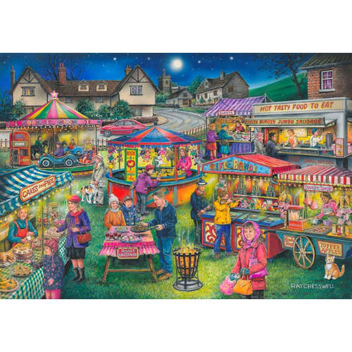 Village Fayre House of puzzles jigsaw 13 find the